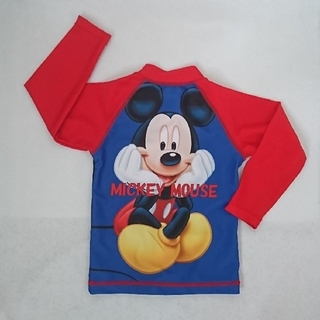 ディズニー(Disney)の美品☆ラッシュガード 90cm ミッキー(水着)