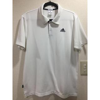 adidas - アディダス adidas ポロシャツ  白色