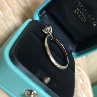 ティファニー(Tiffany & Co.)の確認用 鑑定書付き 大粒ダイヤモンドティファニーセッティングリング .70ct(リング(指輪))