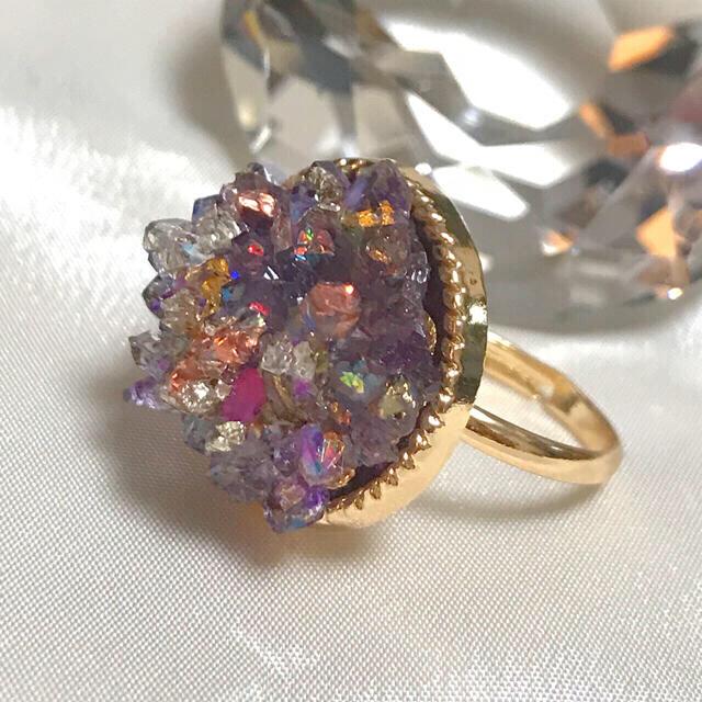 オルゴナイト 〜いつも一緒〜 レディースのアクセサリー(リング(指輪))の商品写真