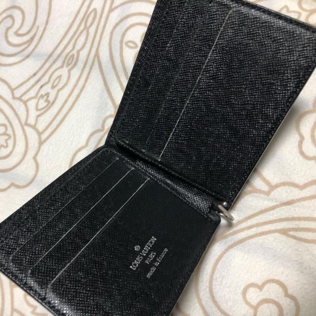 newest 9e79f 26b7a ルイヴィトン マネークリップ 二つ折り財布 | フリマアプリ ラクマ