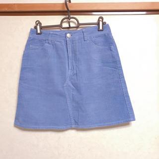 ローリーズファーム(LOWRYS FARM)のコーデュロイ 台形スカート ミニスカート(ミニスカート)
