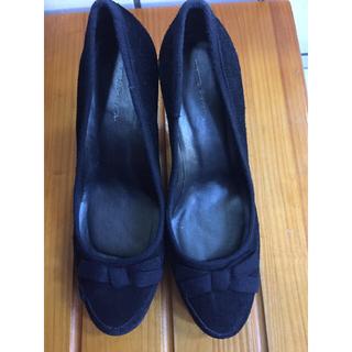 タビタ(TABITA)のTABITA パンプス 黒♡美品 38サイズ(ハイヒール/パンプス)