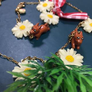 エヌドゥ(N2)のN2 レネレイド ダックスフンドのネックレスとブレスレット(ネックレス)