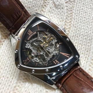 コグ(COGU)のコグ COGU フルスケルトン 自動巻き 腕時計 BS00T-WRG(腕時計(アナログ))