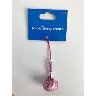ディズニー(Disney)のチシャ猫 鈴ストラップ(キーホルダー/ストラップ)