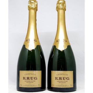クリュッグ(Krug)のクリュッグ グランキュベ エディション166 750ml 2本セット(正規品)(シャンパン/スパークリングワイン)