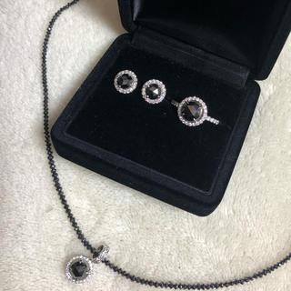 ジュエリーツツミ(JEWELRY TSUTSUMI)のブラックダイヤモンド5点セット(リング(指輪))
