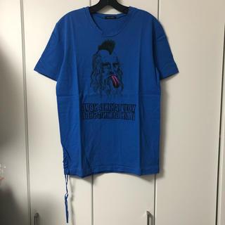 ミルクボーイ(MILKBOY)のMILK BOY ミルクボーイ Tシャツ 青 アインシュタイン 鏡文字(Tシャツ/カットソー(半袖/袖なし))