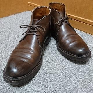 アレンエドモンズ(Allen Edmonds)の【値下げ】アレン・エドモンズ チャッカブーツ US7 1/2 ブラウン 茶(ブーツ)