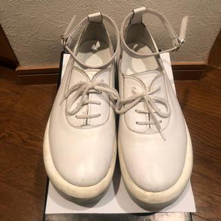 トーキョーボッパー(TOKYO BOPPER)のTOKYO BOPPER No.870 白(ローファー/革靴)
