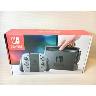ニンテンドースイッチ(Nintendo Switch)のNintendo Switch 本体 グレー 未使用 (家庭用ゲーム機本体)