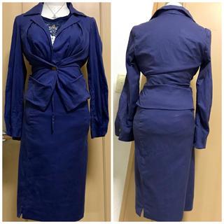 ヴィヴィアンウエストウッド(Vivienne Westwood)のヴィヴィアン ネイビー セットアップ スーツ(スーツ)