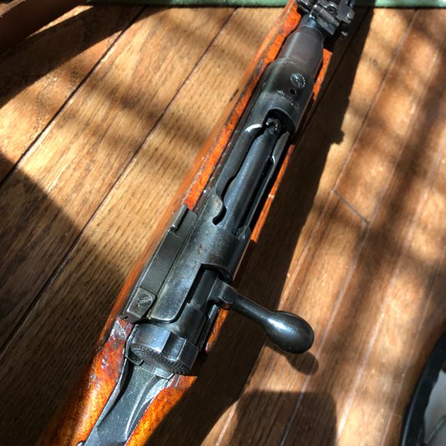 無可動装飾品 九九式歩兵短小銃初期型 エンタメ/ホビーのミリタリー(モデルガン)の商品写真