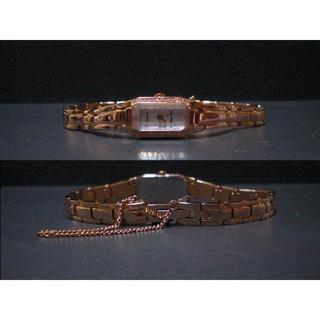 オリエント(ORIENT)のオリエント Lady Rose ピンクゴールド ダイヤ(腕時計)