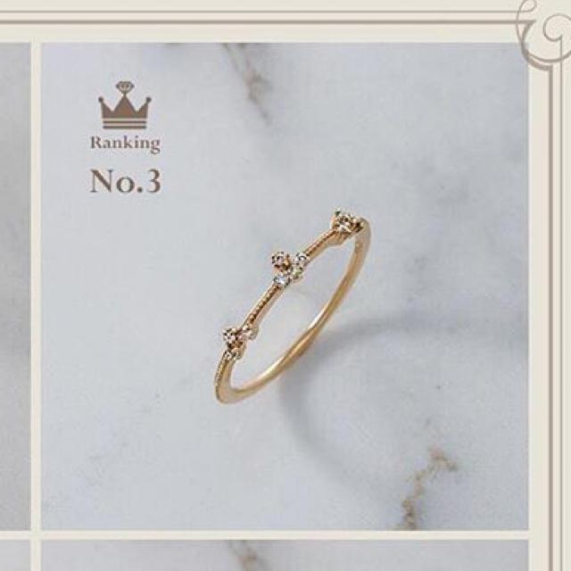 agete(アガット)のアガット*人気ピンキーリング☆☆ レディースのアクセサリー(リング(指輪))の商品写真