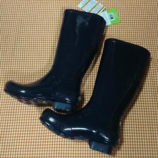 クロックス(crocs)のクロックス crocs tall rain boot ネイビー W5 21cm(レインブーツ/長靴)