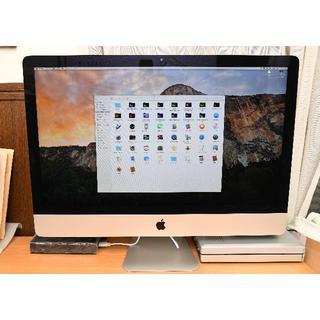 アップル(Apple)のiMac 27インチ Late2013  i7-3.5GHz 12GB 1TB(デスクトップ型PC)