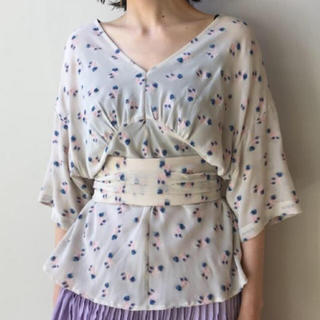 マメ(mame)のグリコ様専用 mame ☆ 2017SS ジャガードトップス(シャツ/ブラウス(半袖/袖なし))