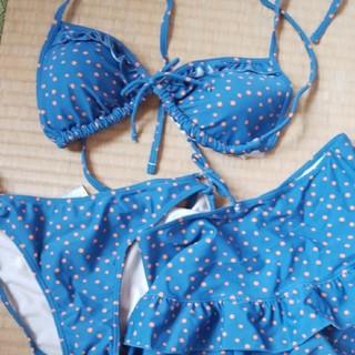 ジーユー(GU)のスカート付き ビキニ(水着)
