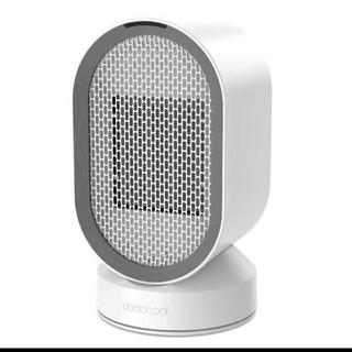 新品dodocool セラミックヒーター ファンヒーター 2秒速暖足元ヒーター (電気ヒーター)