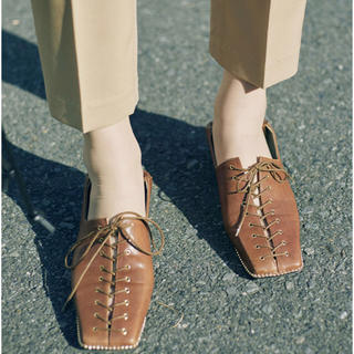 アメリヴィンテージ(Ameri VINTAGE)のアメリ LACE UP LOAFER(ローファー/革靴)