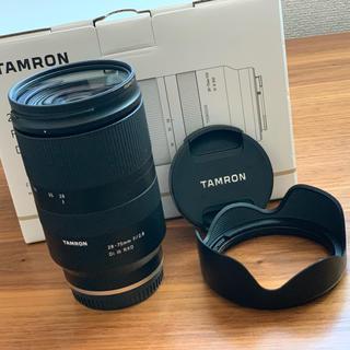 タムロン(TAMRON)のタムロン sony αシリーズ レンズ ズームレンズ(ミラーレス一眼)