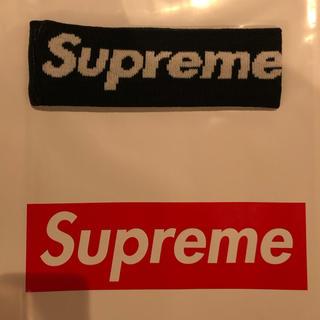 シュプリーム(Supreme)のSupreme New Era Big Logo Headband 黒(その他)