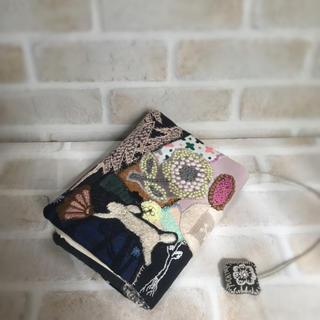 ハンドメイド♡カケラ合わせのブックカバー(ブックカバー)