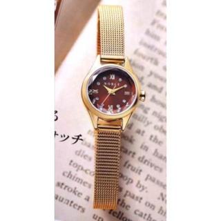 ノーブル(Noble)の+すぅ+様専用 NOBLE ノーブル メッシュ ベルトウォッチ ANA機内販売(腕時計)