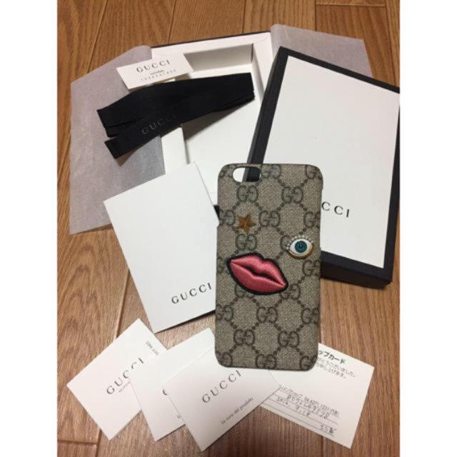 iphone8 ケース 赤 - Gucci - GUCCI iphoneケースの通販 by ☺︎|グッチならラクマ