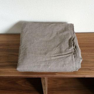 ムジルシリョウヒン(MUJI (無印良品))の無印良品 敷ふとんカバー S 未使用(その他)
