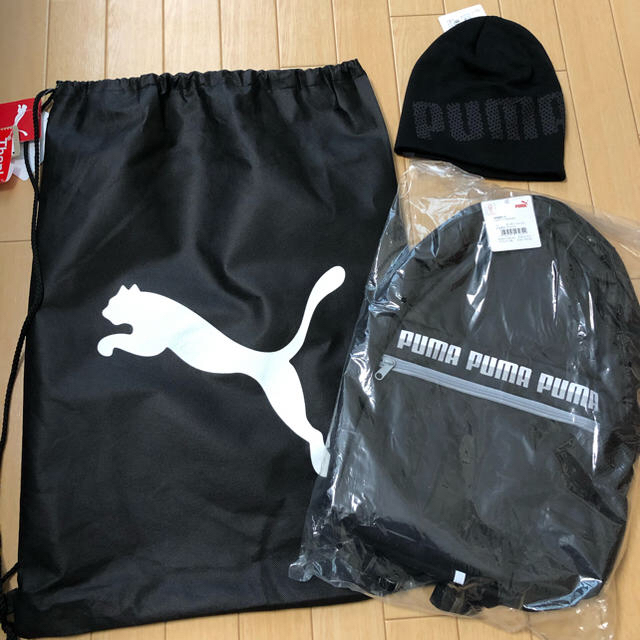 PUMA(プーマ)のプーマ三点セット リュック 帽子 ナップサック メンズのバッグ(バッグパック/リュック)の商品写真