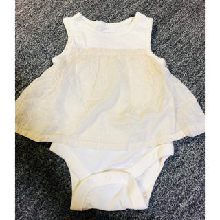 ベビーギャップ(babyGAP)のbabyGAP 夏服 ロンパース 0-3month(ロンパース)