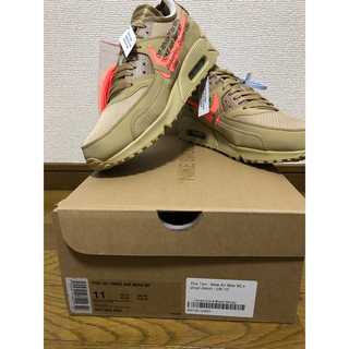 ナイキ(NIKE)のNIKE OFF WHITE AIR MAX 90 US11 29cm(スニーカー)