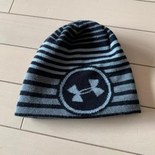アンダーアーマー(UNDER ARMOUR)のみんみ様専用 アンダーアーマー ニット帽 リバーシブル(帽子)