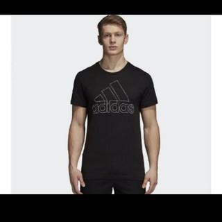 アディダス(adidas)の新品タグつきadidasTシャツMサイズ(Tシャツ/カットソー(半袖/袖なし))