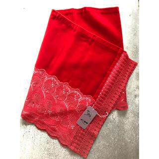 着物用 ショール 赤(和装小物)