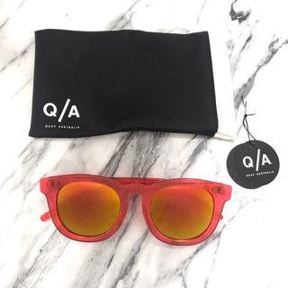 クエイアイウェアオーストラリア(Quay Eyeware Australia)の【新品未使用】QUAY EYEWAREサングラス Break fast(サングラス/メガネ)