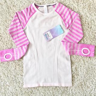 ルルレモン(lululemon)の新品タグ付き ivivva 長袖カットソー サイズ10(Tシャツ/カットソー)
