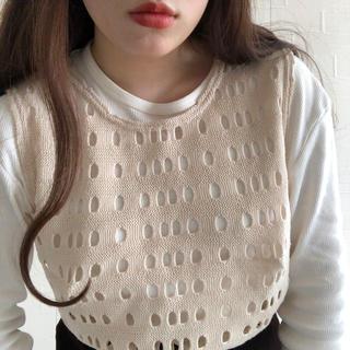 ロキエ(Lochie)のknit vest(ベスト/ジレ)