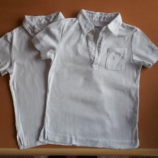 ギンザノサエグサ(SAYEGUSA)の子供 半袖 コットンシャツ 2枚セット 120(Tシャツ/カットソー)