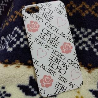 セシルマクビー(CECIL McBEE)のセシルマクビー iphone5 5s用(iPhoneケース)