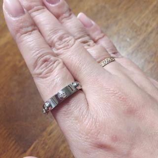 ルイヴィトン(LOUIS VUITTON)のお値下げ ルイヴィトン 1P ダイヤモンド18KWG(リング(指輪))