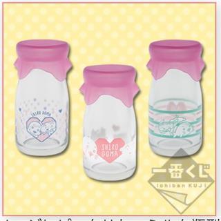 バンダイ(BANDAI)のシロゴマ 牛乳瓶型 小物入れコンプセット 新品未使用未開封(小物入れ)