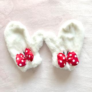 ディズニー(Disney)のミニーちゃん手袋(手袋)