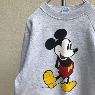 ディズニー(Disney)の希少 ミッキー トレーナー mickey ビンテージ ディズニー スウェット(スウェット)