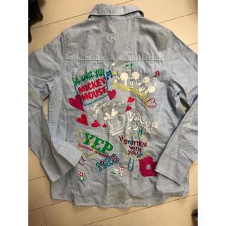 ディズニー(Disney)のミッキー Disney カッター シャツ 春服(シャツ/ブラウス(長袖/七分))