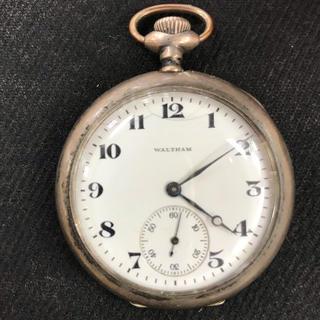 ウォルサム(Waltham)のウォルサム 手巻 懐中時計 ジャンク(腕時計(アナログ))