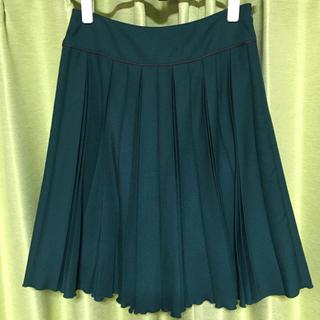 ベルメゾン(ベルメゾン)の膝丈プリーツスカート(ひざ丈スカート)